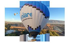Shared balloon flight