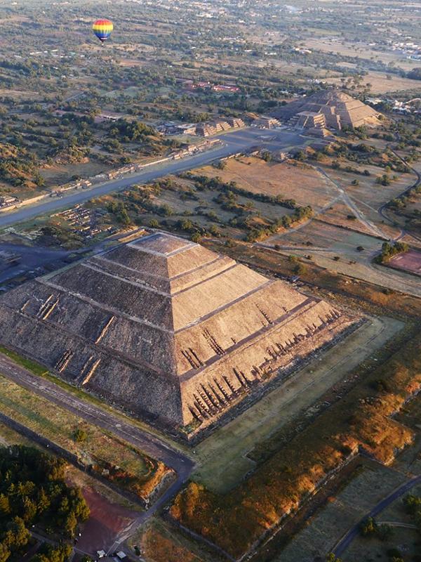 vuelo en globo volare teotihuacán