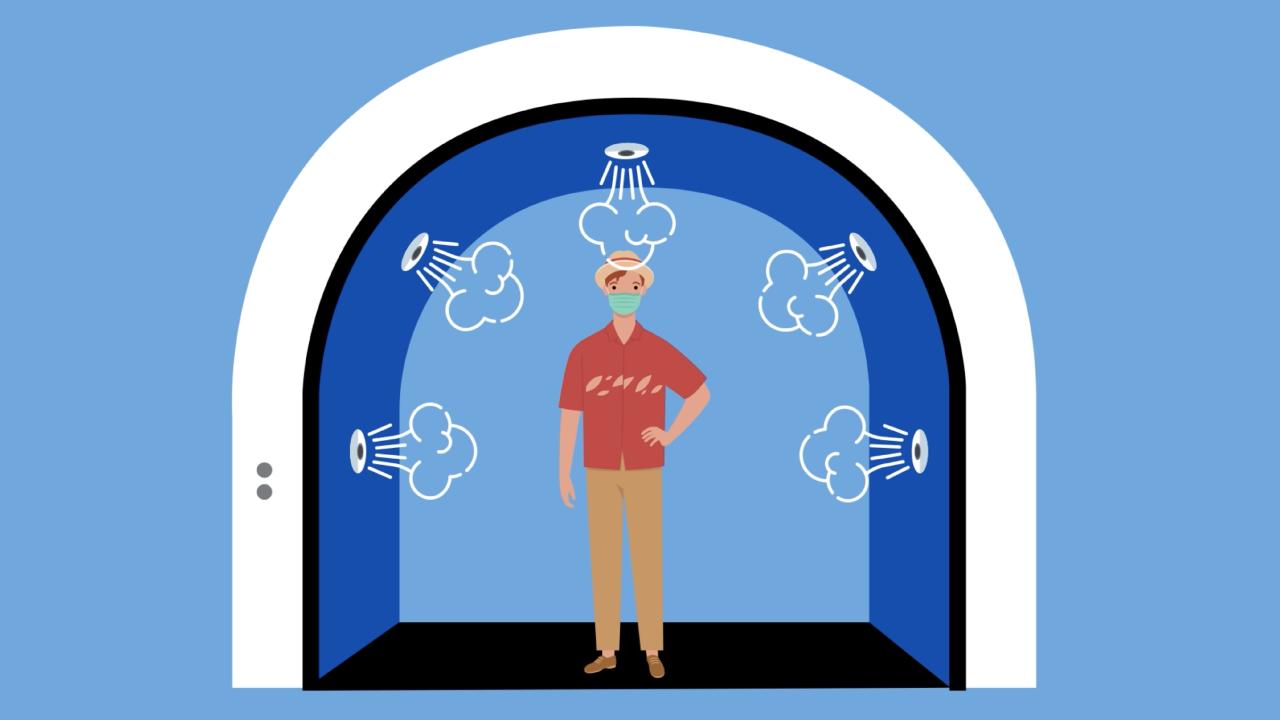 tunel sanitizante volare
