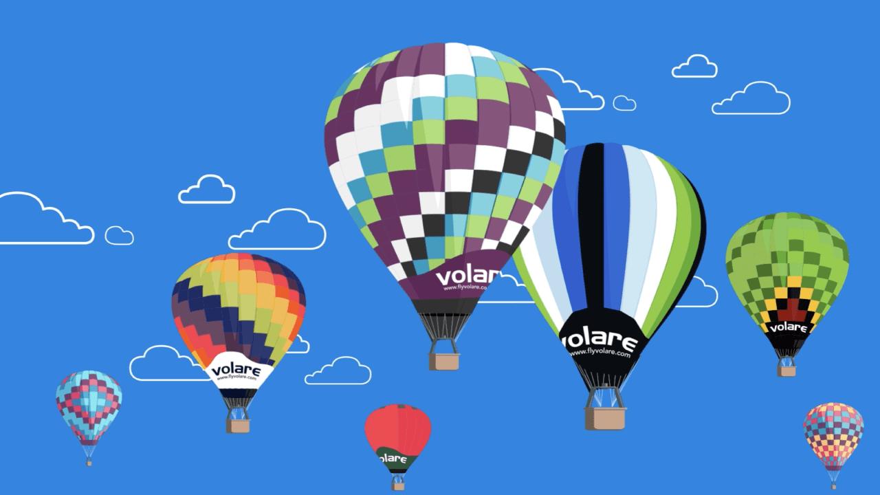 globos aerostaticos de volare
