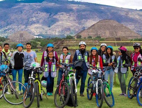 tour en bici teotihuacan