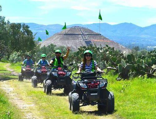 tour en cuatrimoto teotihuacan 1