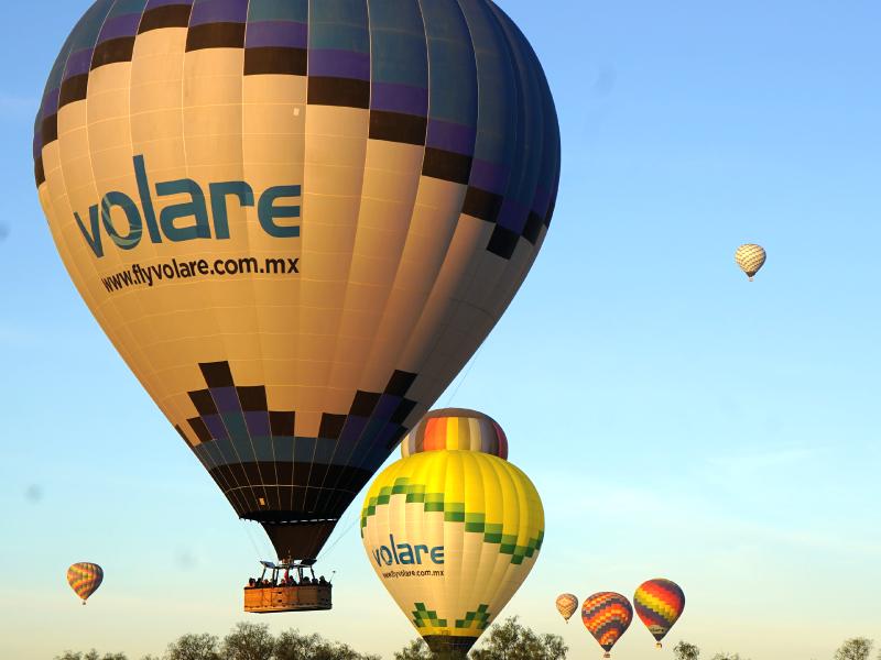volar en globo aerostatico