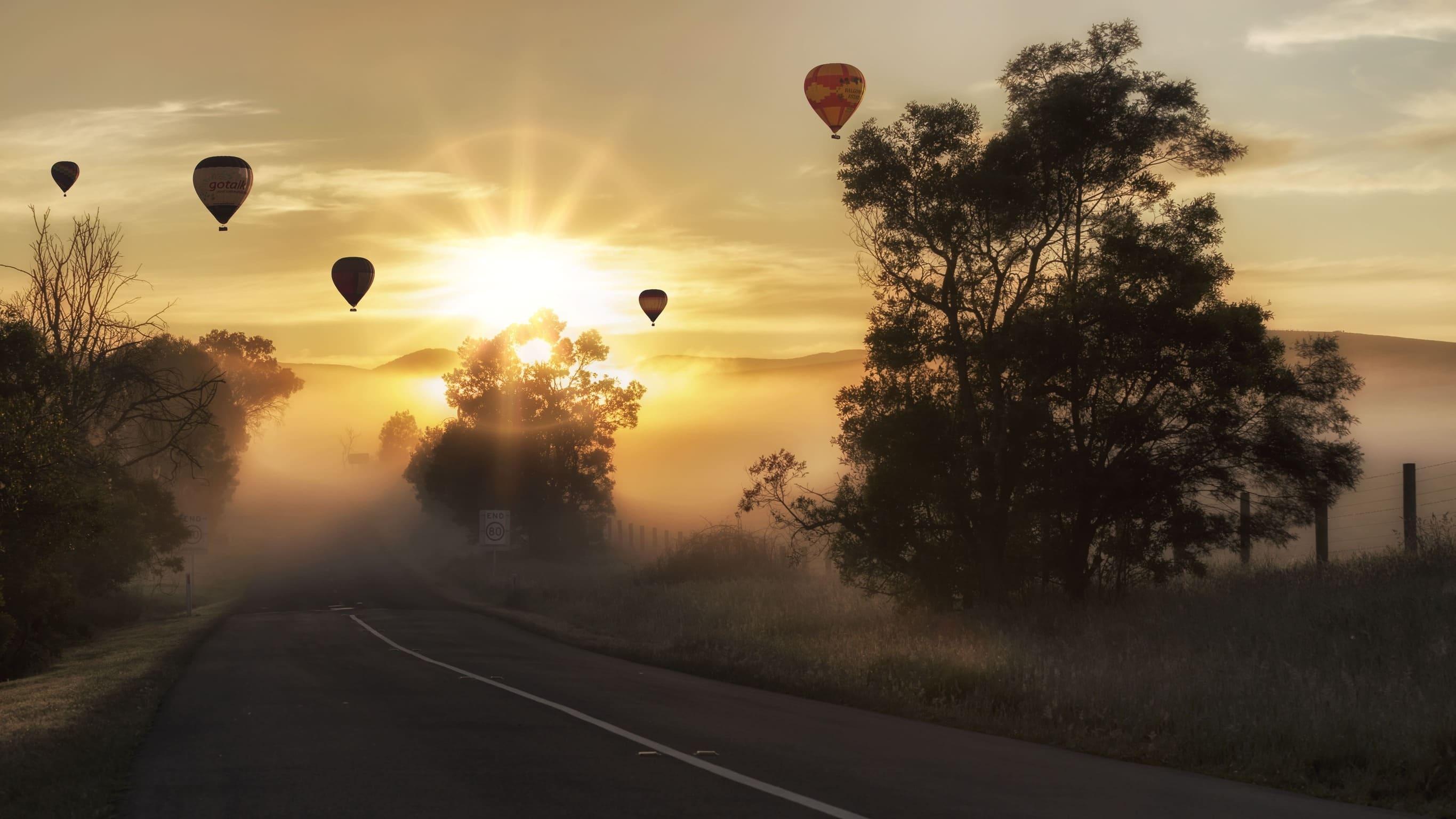 volar en globo blog