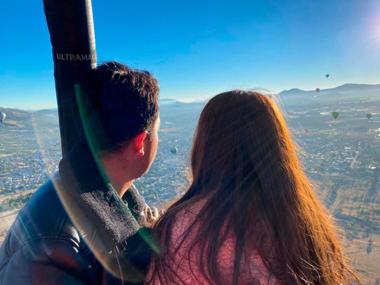 volare privado pareja